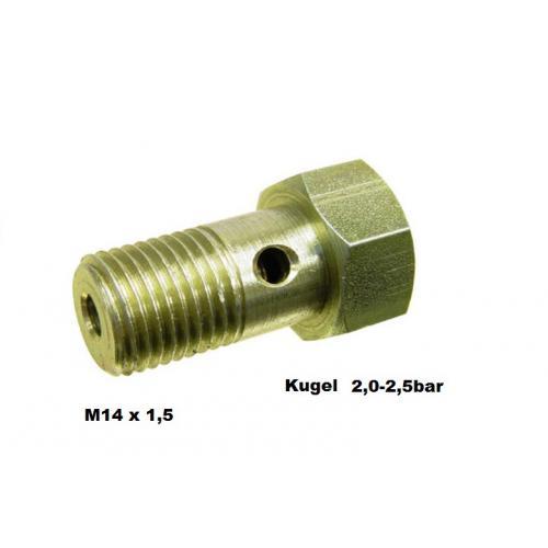 Überströmventil Einspritzumpe vergl. Bosch 2417413082 Mercedes Deutz Mercedes