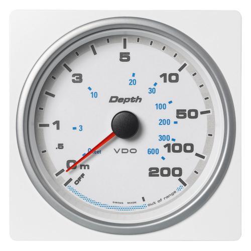 VDO-AcquaLink® Echolot 110 mm 12-24 V schwarz oder weiß