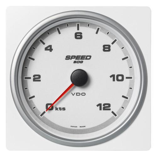 VDO-AcquaLink® Geschwindigkeitsanzeiger (SOG) 110 mm schwarz oder weiß
