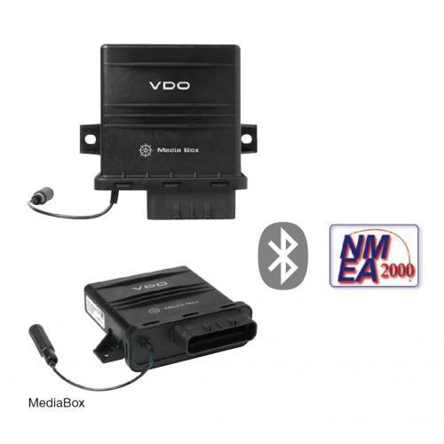 VDO-AcquaLink® MediaBox 12-24 V