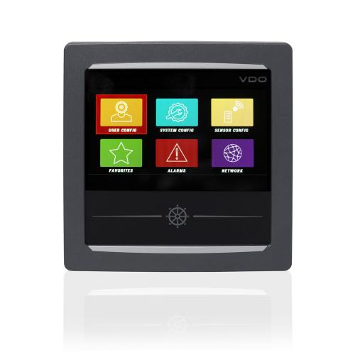 VDO-AcquaLink® Multifunktions-TFT-Display 4,3 schwarz oder weiß