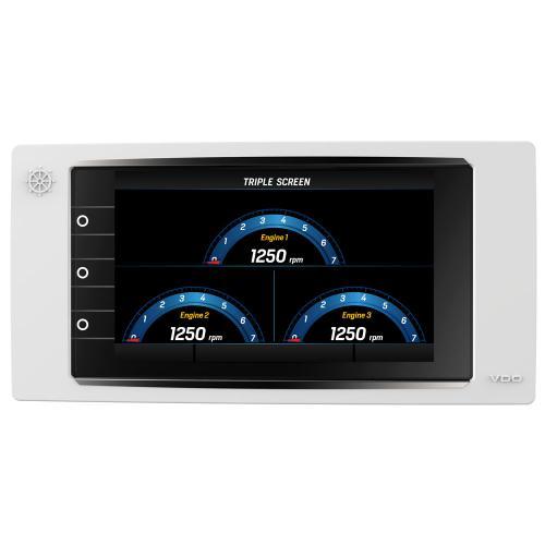 VDO-AcquaLink® Multifunktions-TFT-Display 7 schwarz oder weiß