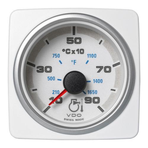 VDO-AcquaLink® Pyrometer 52 mm 12-24 V schwarz oder weiß