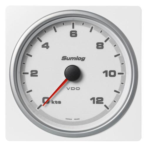 VDO-AcquaLink® Sumlog® (LOG®) 110 mm schwarz oder weiß