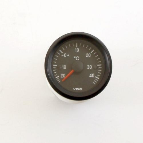 VDO Außenthermometer Aussentemperatur 12V Armatur analog -20 +46°C