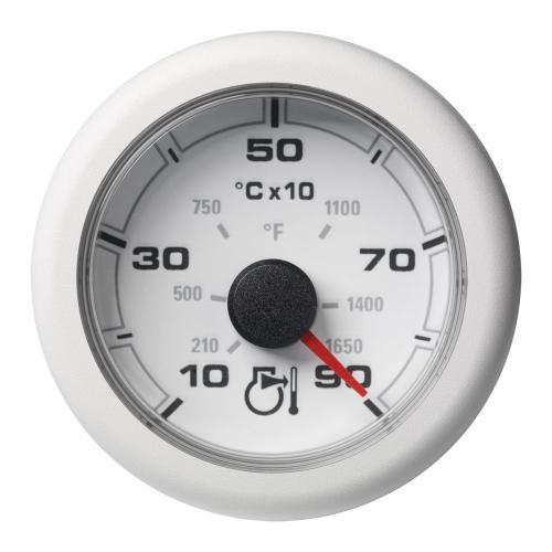 VDO-OceanLink Pyrometer Ø52mm 900°C/1650°F-1650°F/900°C 12-24V schwarz oder weiß
