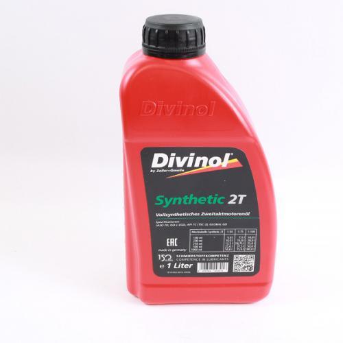 vollsynthetisches 2-Takt Öl Hochleistung s- Zweitaktöl 1000 ml Divinol Kart