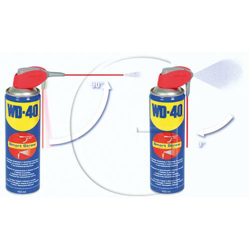 """WD-40 multi Spray""""Smart Straw"""" Inhalt = 450 ml - Rostlöser, Schmiermittel, Kontaktspray, Korrosionsschutz und Reiniger in einem"""
