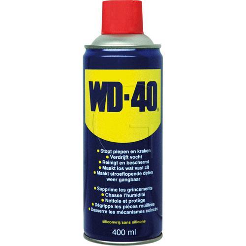 WD-40 multi Spray / Inhalt = 400 ml - Rostlöser, Schmiermittel, Kontaktspray, Korrosionsschutz und Reiniger in einem