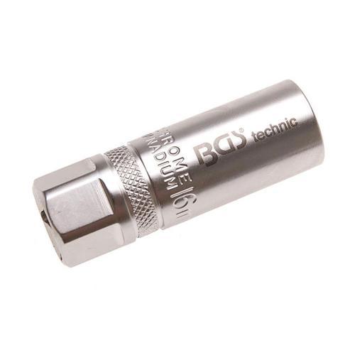 Zündkerzen-Einsatz, mit Haltefeder, 16 mm