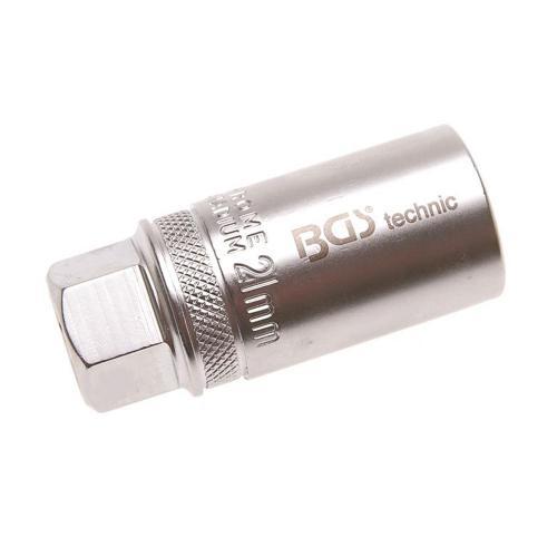 Zündkerzen-Einsatz, mit Haltefeder, 21 mm