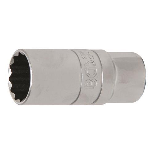Zündkerzen-Einsatz mit Haltegummi, 12,5 (1/2), 21 mm