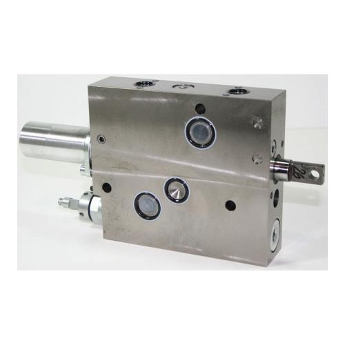 Zusatzsteuergerät für Bosch - System SB 23 LS Typ AK - TB - Ausführung links - Anschlüsse A und B als Flansch